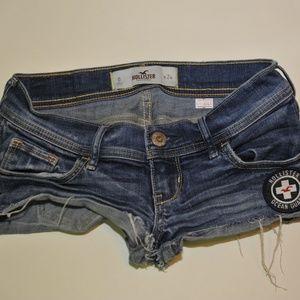 Hollister cut off shorts size 0 -6561-